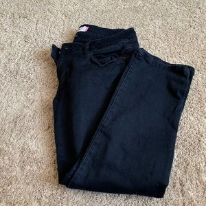 Black Cropped Cabi Jeans